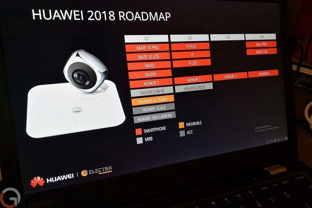 Lộ danh sách những smartphone sẽ ra mắt trong năm 2018 của Huawei hình 2
