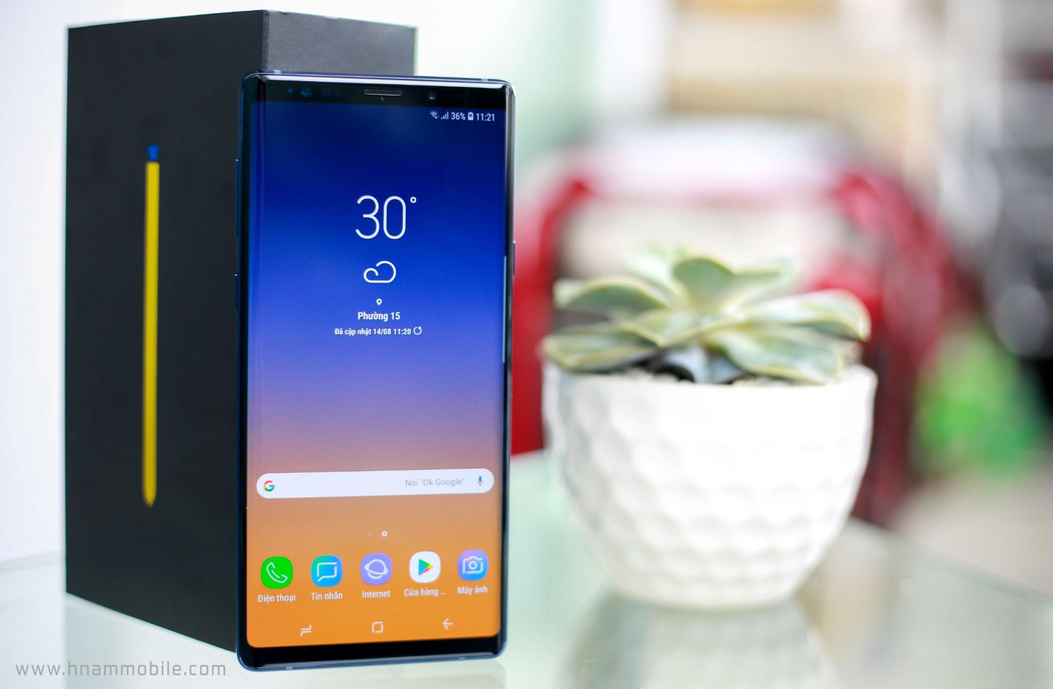 Đập hộp Galaxy Note 9 chính hãng phiên bản 512GB bán tại Việt Nam hình 4