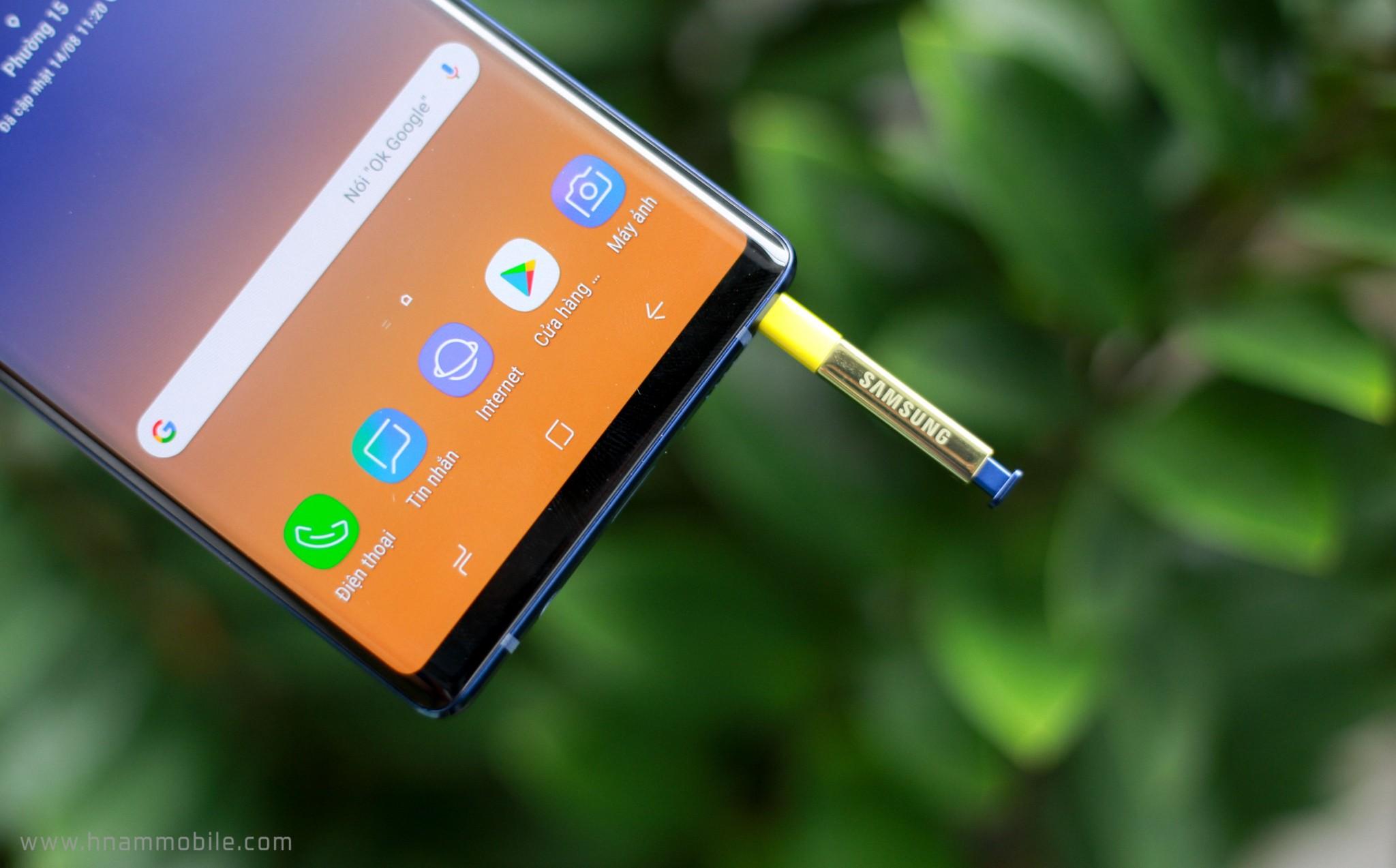 Đập hộp Galaxy Note 9 chính hãng phiên bản 512GB bán tại Việt Nam hình 16