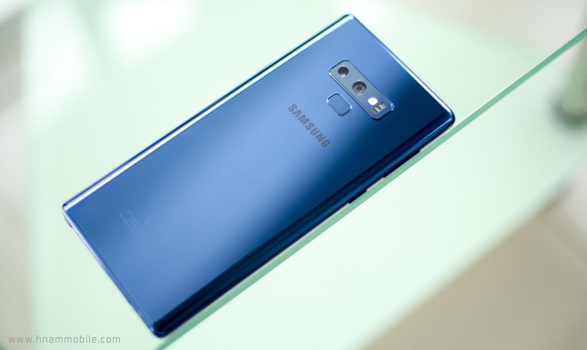 Đập hộp Galaxy Note 9 chính hãng phiên bản 512GB bán tại Việt Nam hình 7