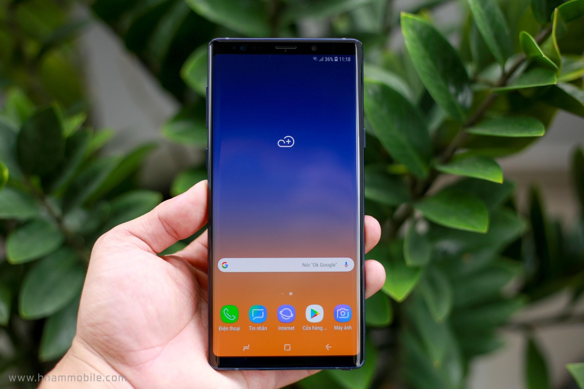 Đập hộp Galaxy Note 9 chính hãng phiên bản 512GB bán tại Việt Nam hình 14