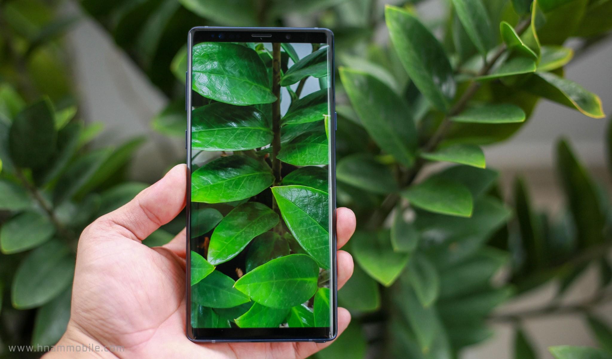 Đập hộp Galaxy Note 9 chính hãng phiên bản 512GB bán tại Việt Nam hình 13