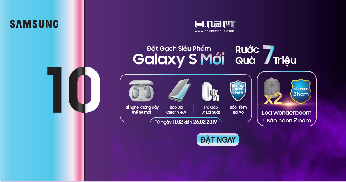 Đặt gạch ngay Samsung Galaxy S Mới để nhận ngay quà hơn 7 triệu hình 1