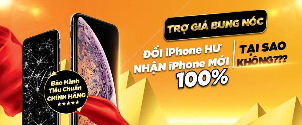 Độc quyền tại Hnam Mobile: ĐỔI IPHONE HƯ - NHẬN IPHONE MỚI 100% hình 1