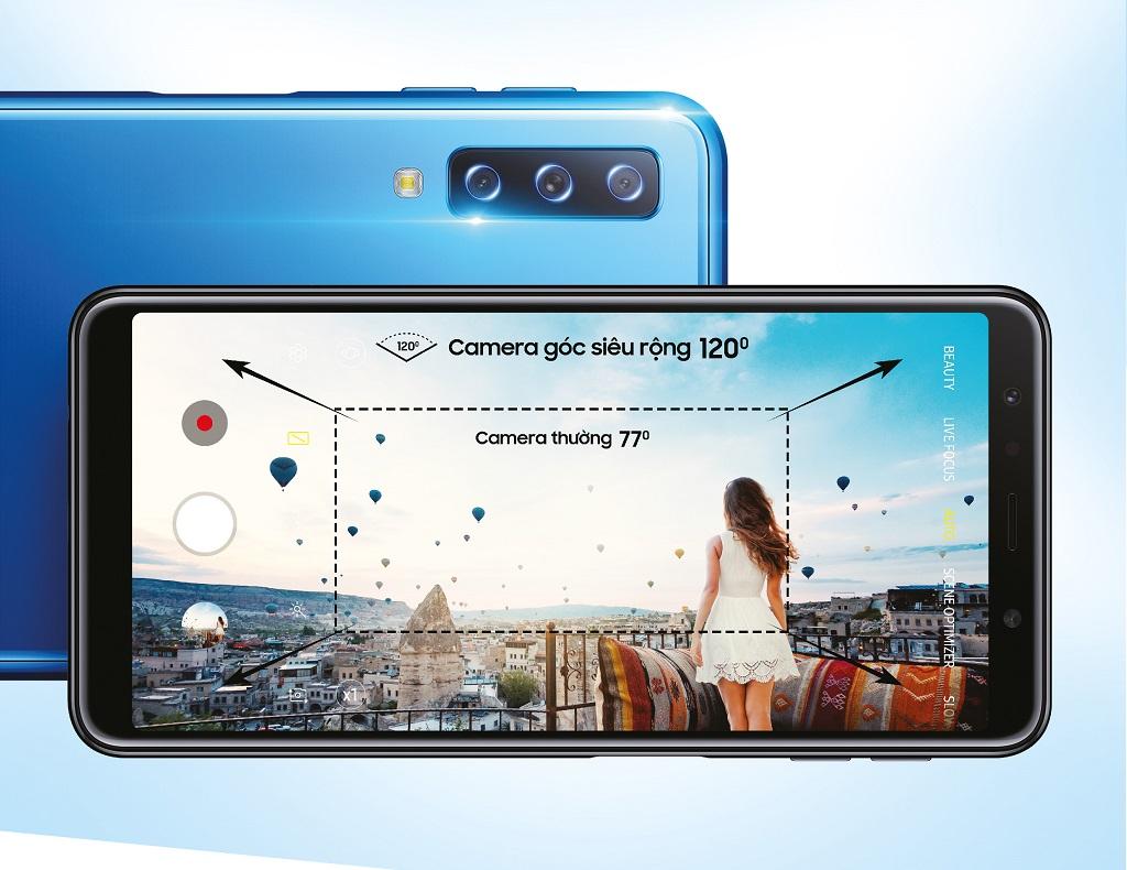 Galaxy A7, Smartphone đột phá cho giới trẻ đã chính thức xuất hiện hình 1