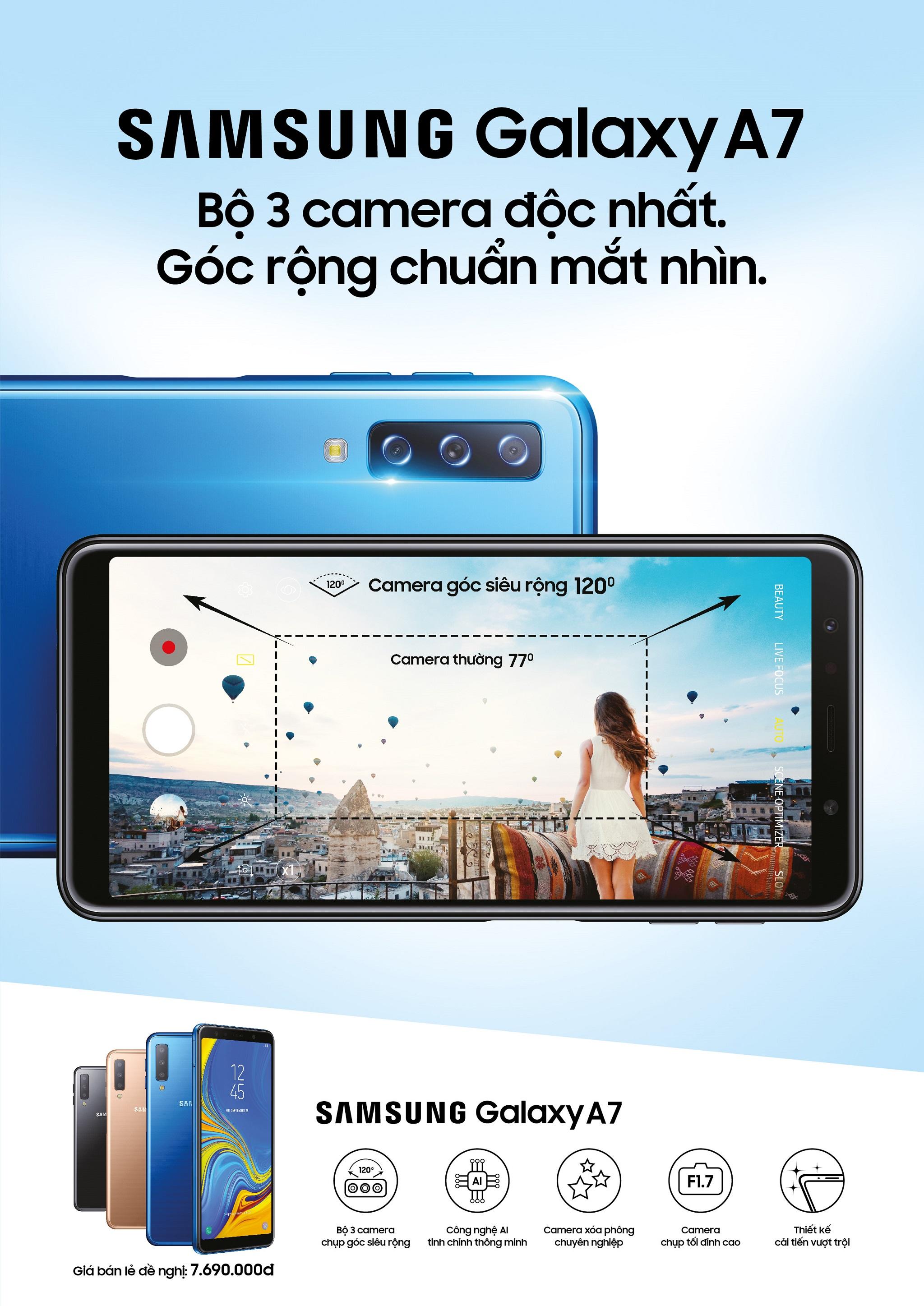 Galaxy A7, Smartphone đột phá cho giới trẻ đã chính thức xuất hiện hình 2