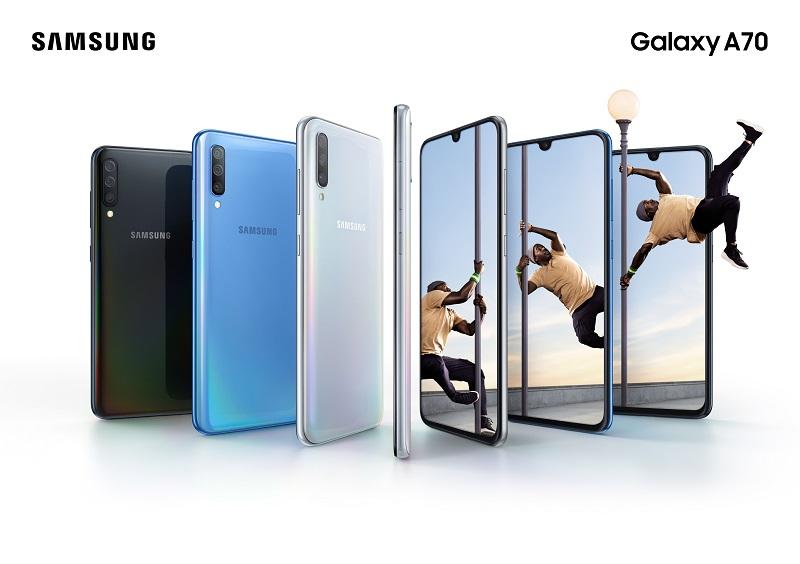 Samsung chính thức ra mắt Galaxy A70 - Màn hình vô cực lớn nhất tích hợp công nghệ bảo mật vân tay đỉnh cao hình 2
