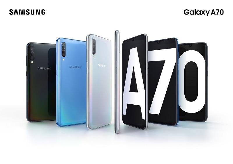 Samsung chính thức ra mắt Galaxy A70 - Màn hình vô cực lớn nhất tích hợp công nghệ bảo mật vân tay đỉnh cao hình 1