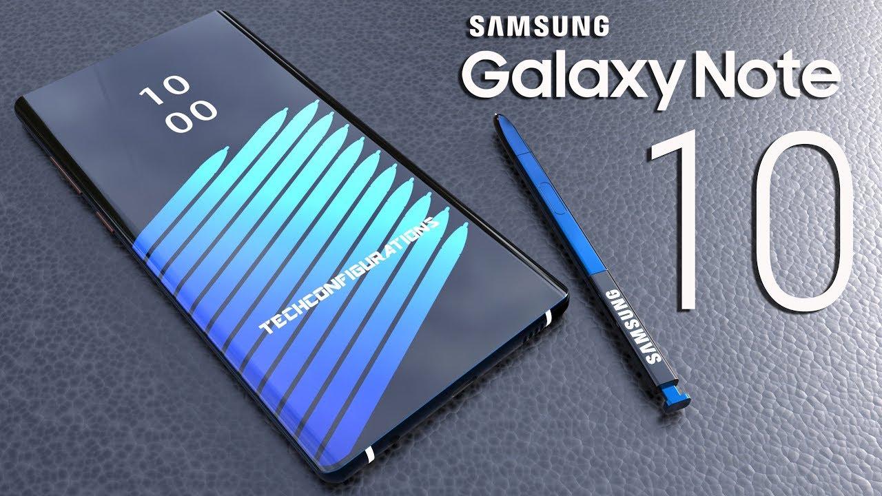 Samsung Galaxy Note 10 sẽ trang bị màn hình 6.66 inch 4K ??? hình 1