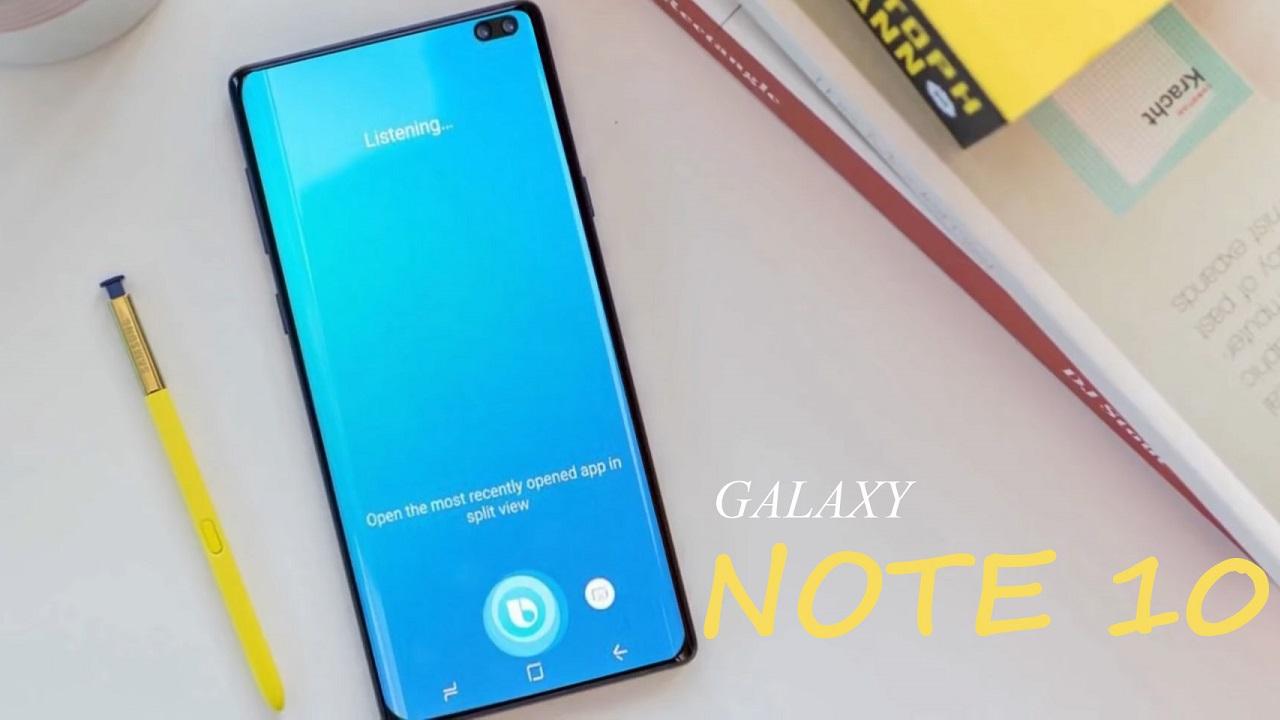 Samsung Galaxy Note 10 sẽ có đến 2 phiên bản hình 1