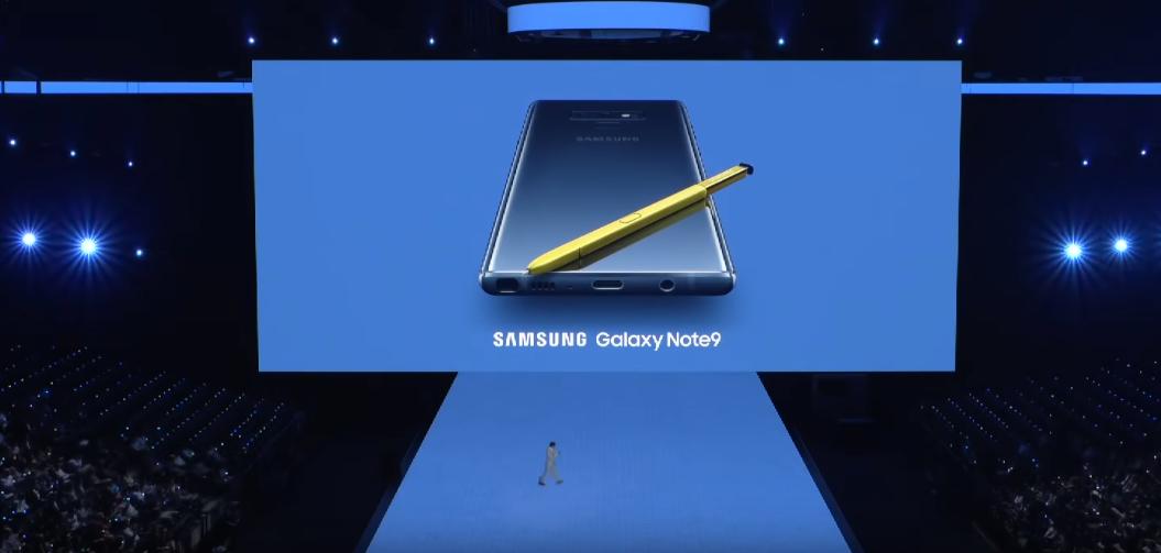 Galaxy Note 9 chính thức ra mắt: S Pen mới, pin 4000 mAh, ROM 512GB hình 1
