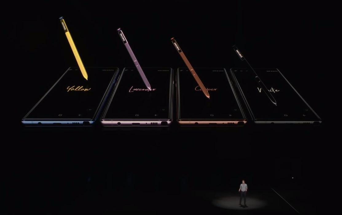 Galaxy Note 9 chính thức ra mắt: S Pen mới, pin 4000 mAh, ROM 512GB hình 3