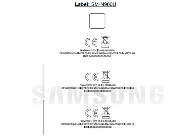 Galaxy Note 9 phiên bản Snapdragon 845 đạt chứng nhận tại FCC chuẩn bị cho ngày ra mắt hình 2