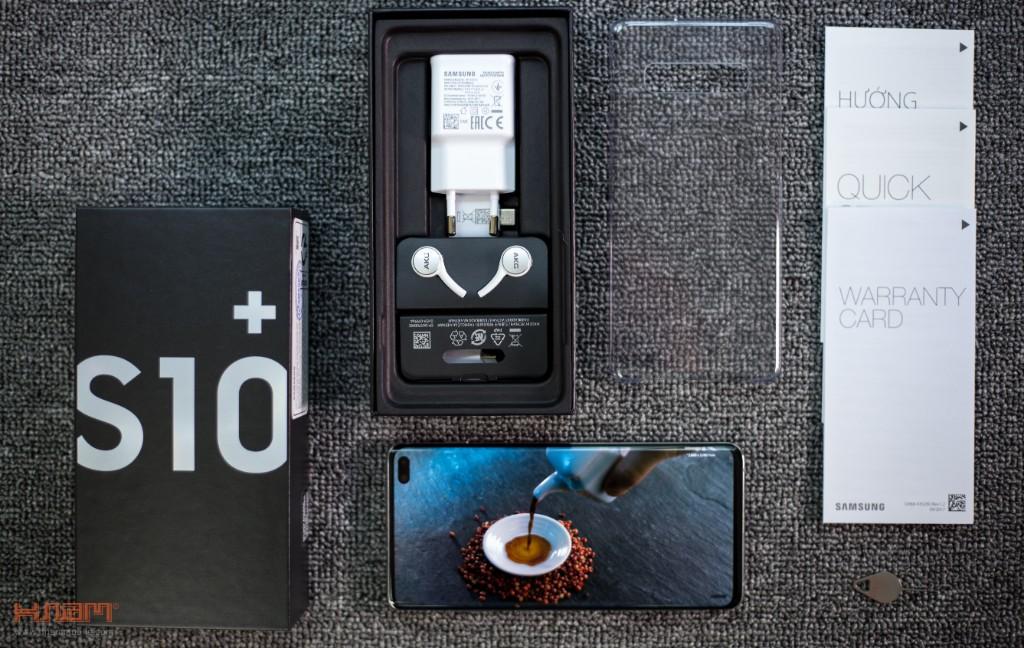 Đập hộp Galaxy S10+: xứng đáng siêu phẩm kỷ niệm 10 năm của Galaxy hình 2