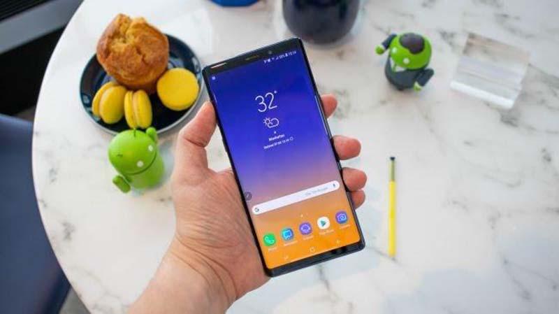 Giá Samsung Galaxy Note 9 cũ hiện tại là bao nhiêu? hình 2