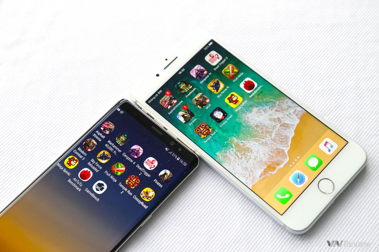 So sánh hiệu năng iPhone 8 Plus và Galaxy Note8: Ai là kẻ chiến thắng? hình 1