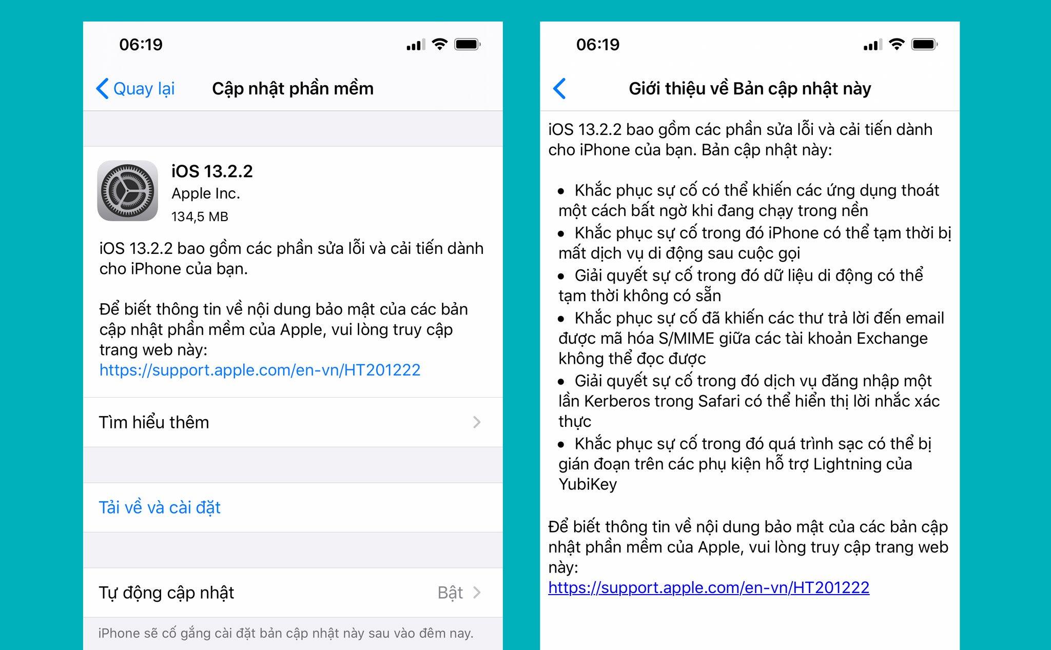 Cập nhật ngay iOS 13.2.2 giúp sửa lỗi app chạy đa nhiệm bị đóng quá nhanh hình 1