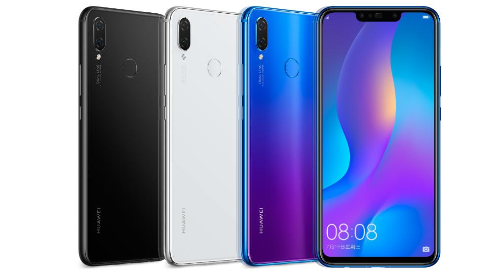 Huawei Nova 3 và 3i ra mắt: 4 camera, màn hình 6.3 inch, giá từ 6.9 triệu hình 1