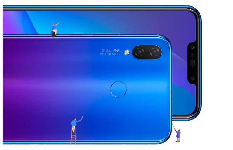 Huawei Nova 3 và 3i ra mắt: 4 camera, màn hình 6.3 inch, giá từ 6.9 triệu hình 5