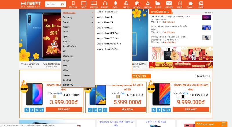 Hướng dẫn mua hàng online hình 1