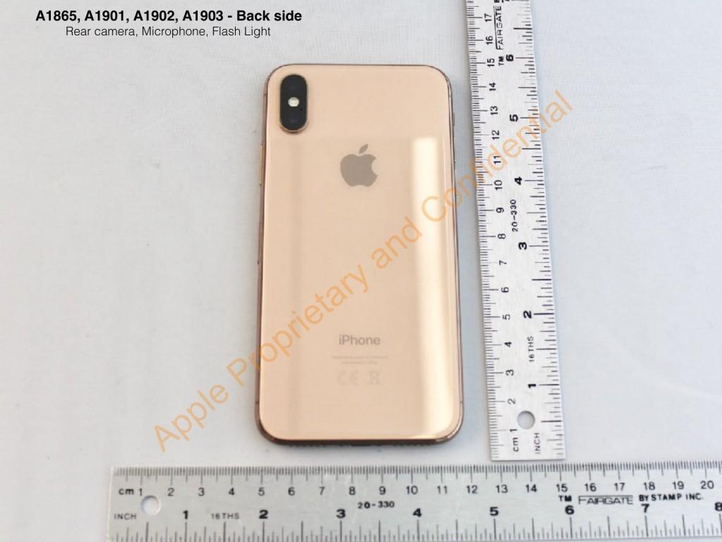 iPhone X phiên bản màu Blush Gold lộ ảnh thực tế! hình 1