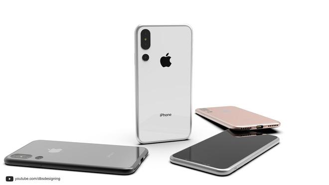 iPhone X Plus xuất hiện bản concept đẹp như mơ hình 3