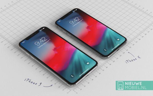 Chiêm ngưỡng vẻ đẹp của iPhone X Plus và iPhone 9 hình 1