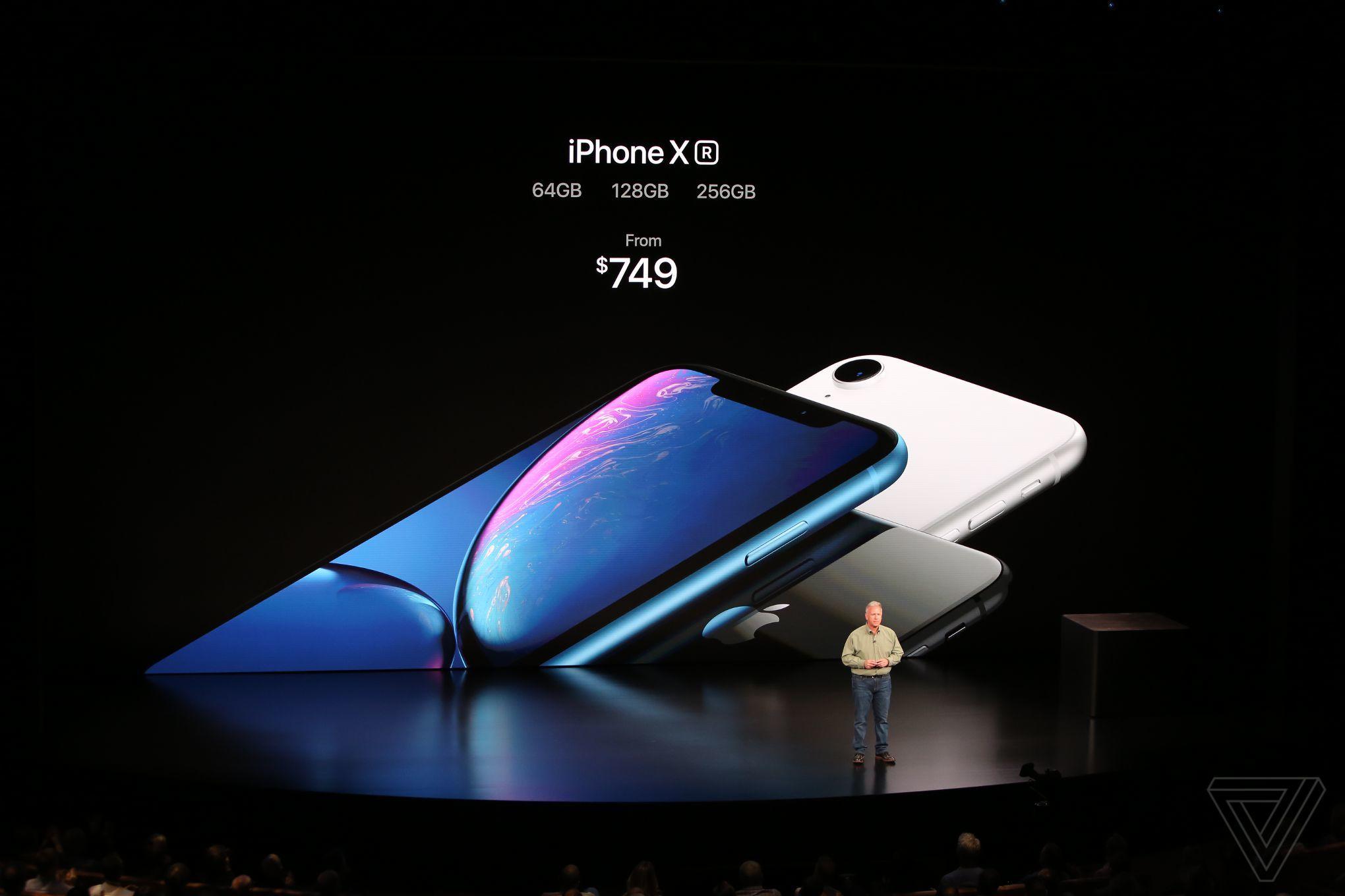 iPhone Xr ra mắt: màn hình LCD 6.1 inch, nhiều màu sắc, giá từ 749 USD hình 1