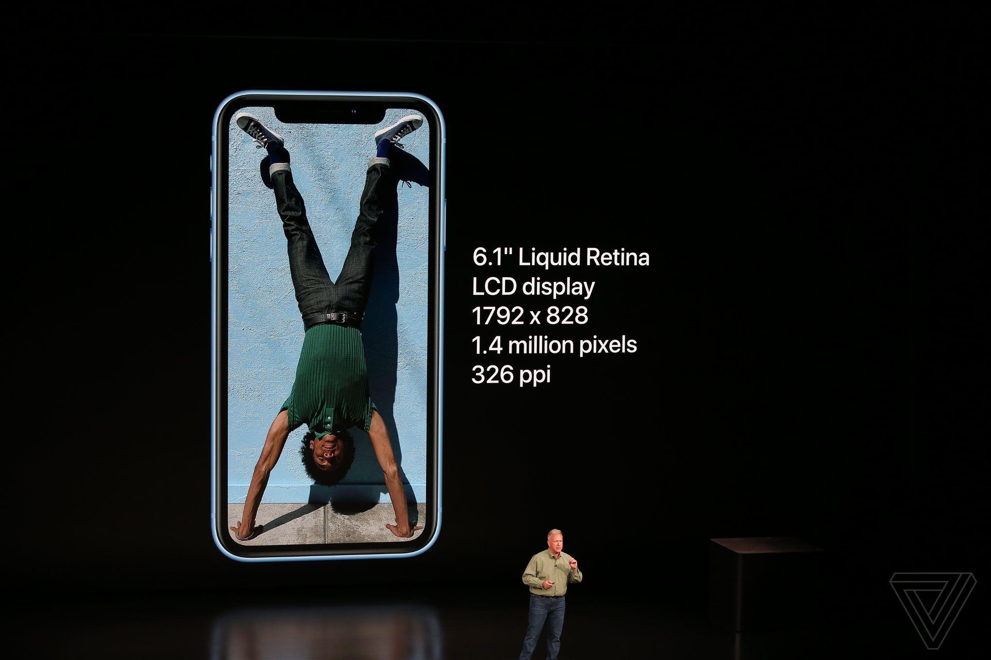 iPhone Xr ra mắt: màn hình LCD 6.1 inch, nhiều màu sắc, giá từ 749 USD hình 2