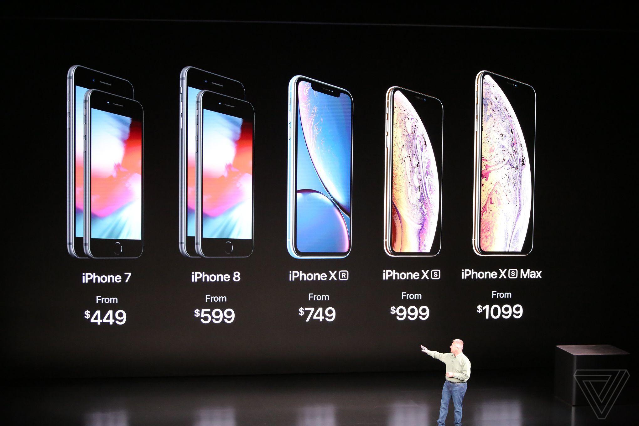 iPhone Xr ra mắt: màn hình LCD 6.1 inch, nhiều màu sắc, giá từ 749 USD hình 7