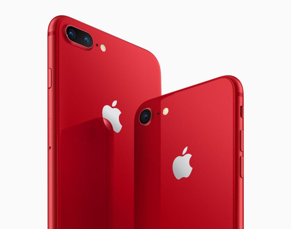 Apple chính thức ra mắt iPhone 8 và 8 Plus phiên bản đặc biệt màu đỏ viền đen hình 1