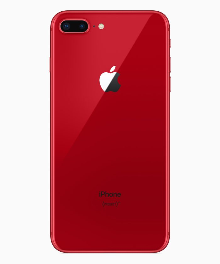 Apple chính thức ra mắt iPhone 8 và 8 Plus phiên bản đặc biệt màu đỏ viền đen hình 2