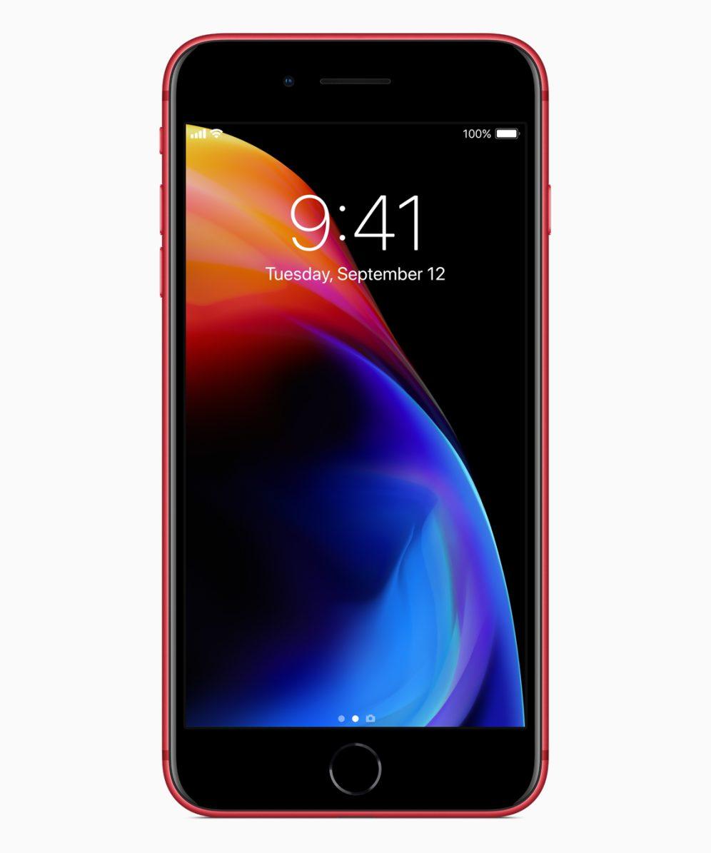 Apple chính thức ra mắt iPhone 8 và 8 Plus phiên bản đặc biệt màu đỏ viền đen hình 3