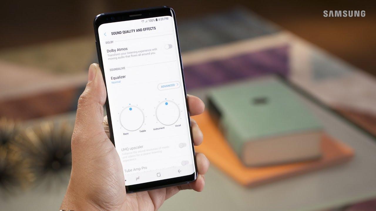 Hướng dẫn sử dụng tính năng Dolby Atmos trên Samsung Galaxy S9, S9+ hình 1