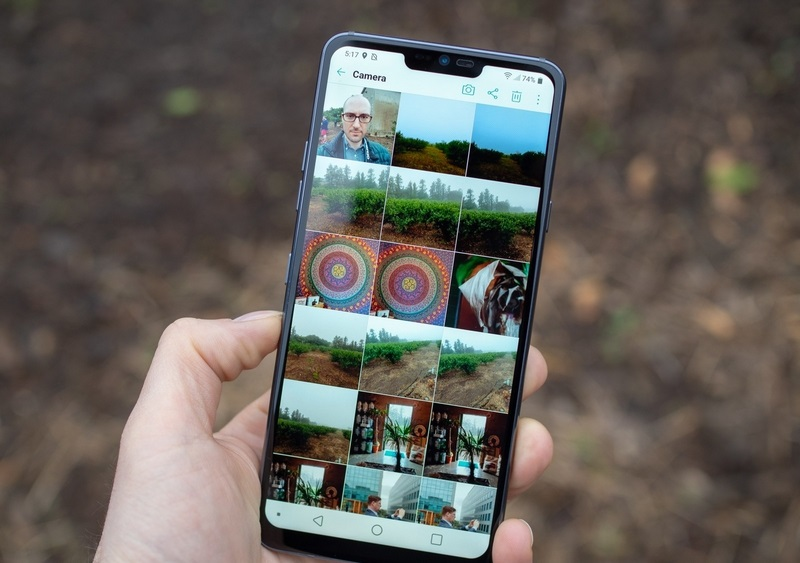 """LG cho rằng màn hình """"tai thỏ"""" trên G7 ThinQ đã có trước khi iPhone X ra mắt hình 1"""