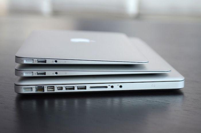 Macbook với thiết kế nhỏ gọn, đơn giản