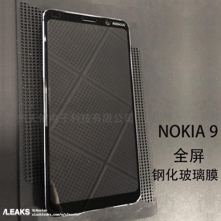 Rò rỉ hình ảnh thực tế mặt trước của Nokia 9 hình 2