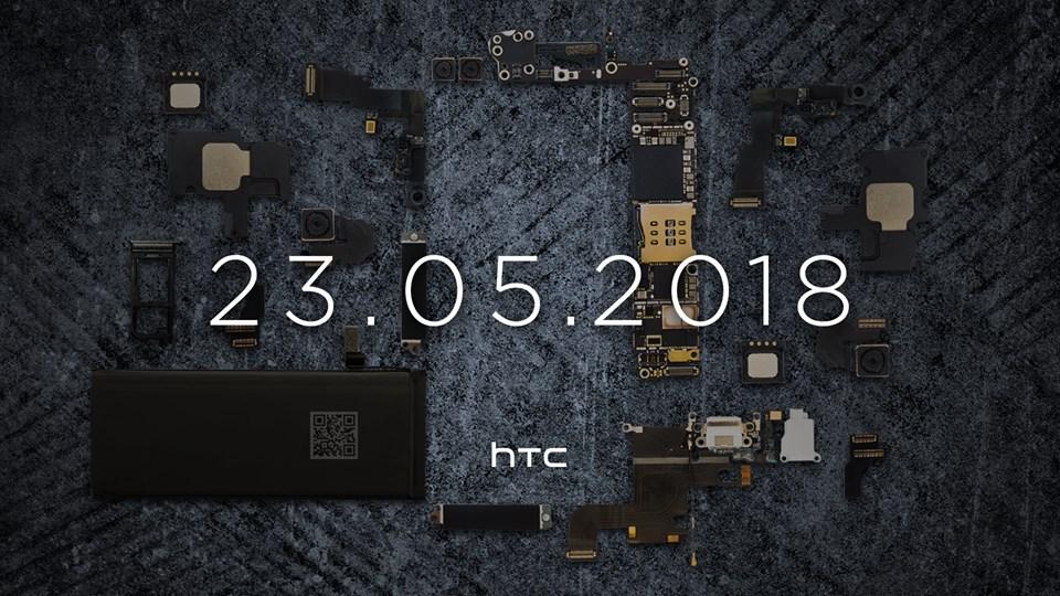 HTC U12 xác nhận sẽ được giới thiệu vào 23/5 hình 1