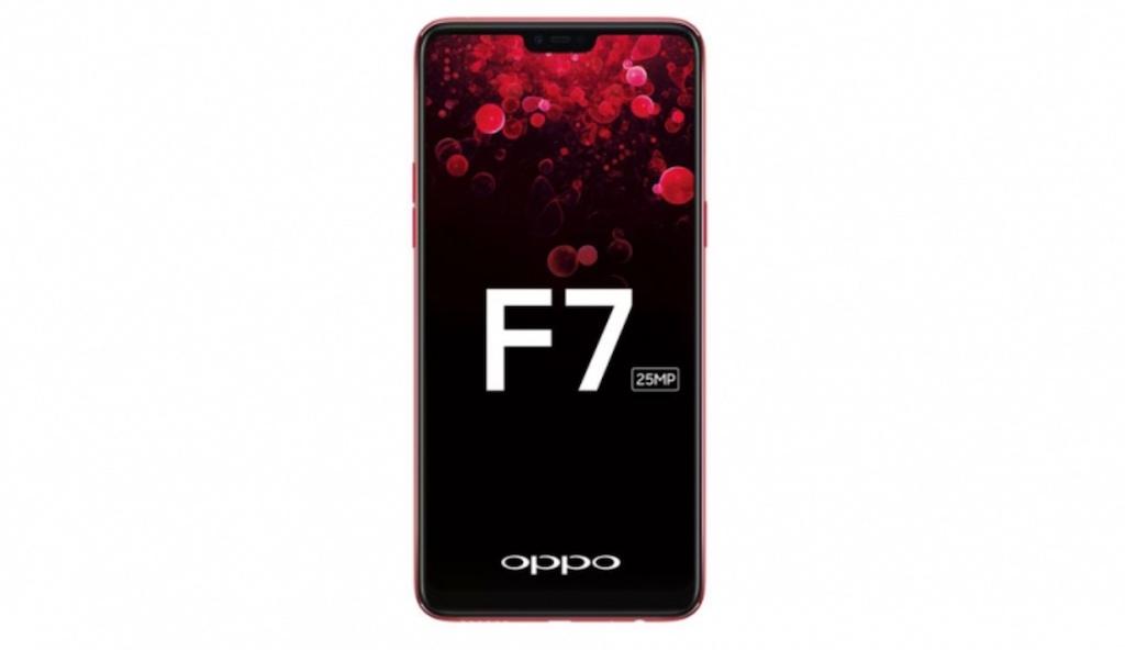 Rò rỉ OPPO F7 với màn hình tai thỏ và camera trước 25MP hình 1