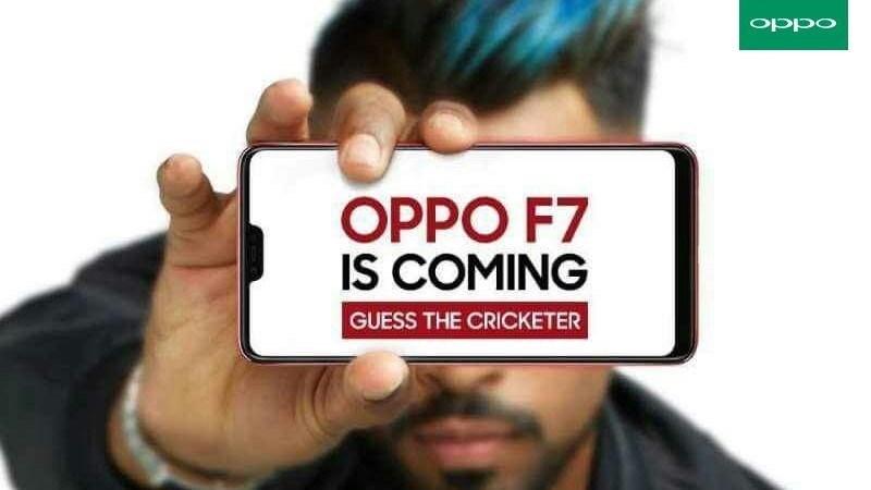 OPPO xác nhận OPPO F7 có màn hình tai thỏ, ra mắt vào 26/03 tại Ấn Độ hình 1