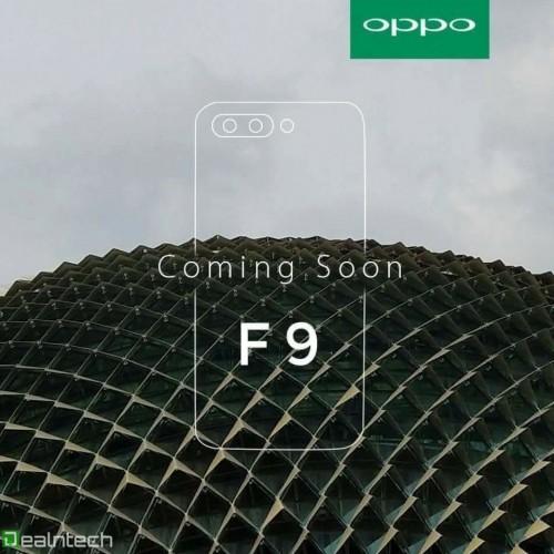 Tease mới của OPPO F9 tiết lộ thiết kế màn hình tai thỏ? hình 2