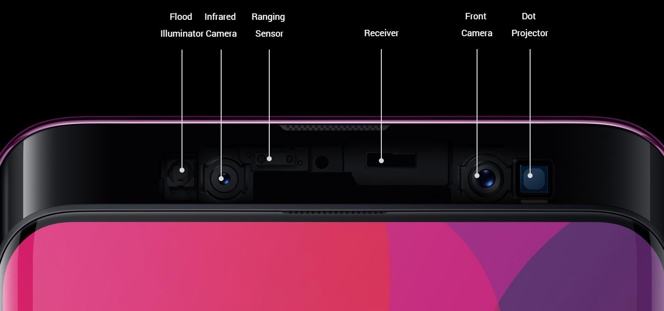 Oppo Find X chính thức ra mắt: màn hình không viền, không tai thỏ, camera trượt ấn tượng hình 5
