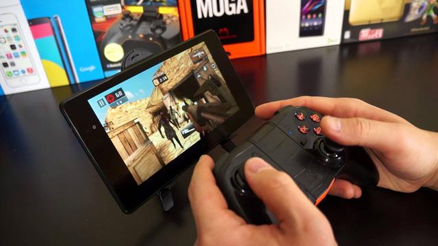 Phụ kiện tay cầm chơi game cho điện thoại hình 1