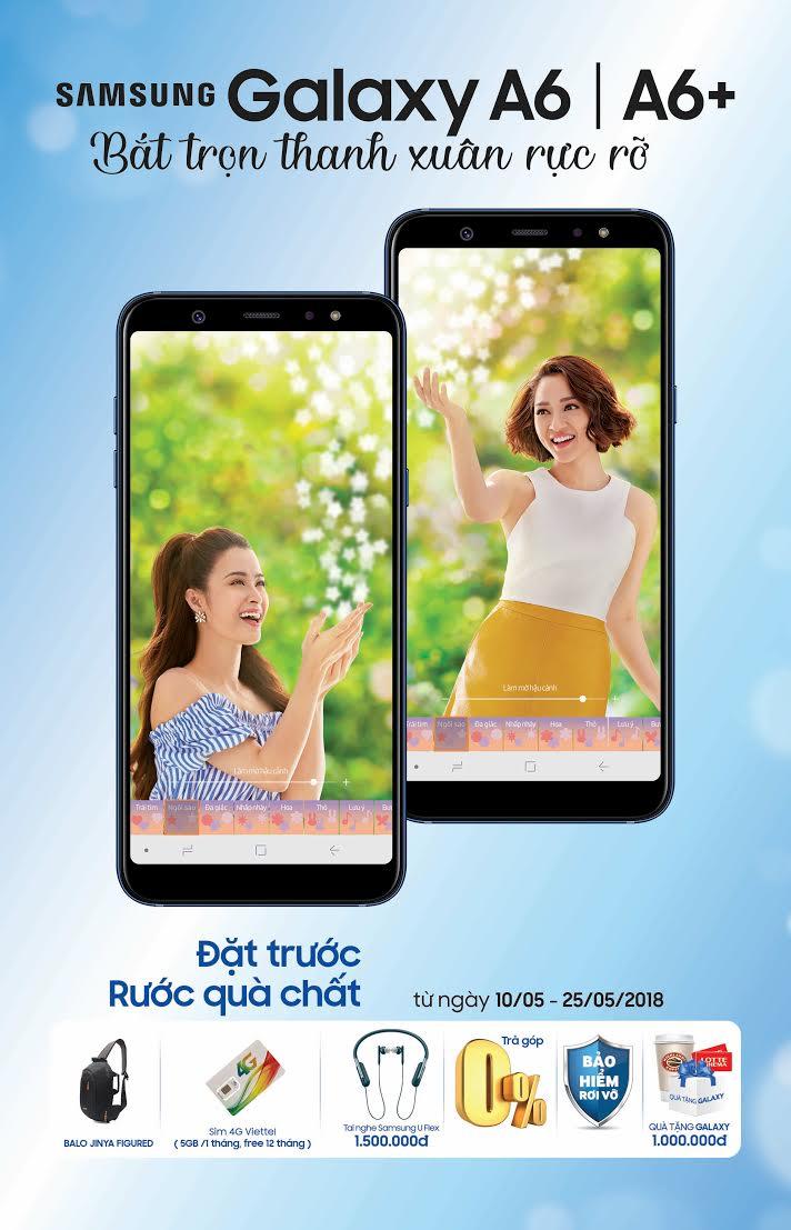 Những lý do nên mua Galaxy A6 và A6+ tại Hnam Mobile ngay lúc này hình 6