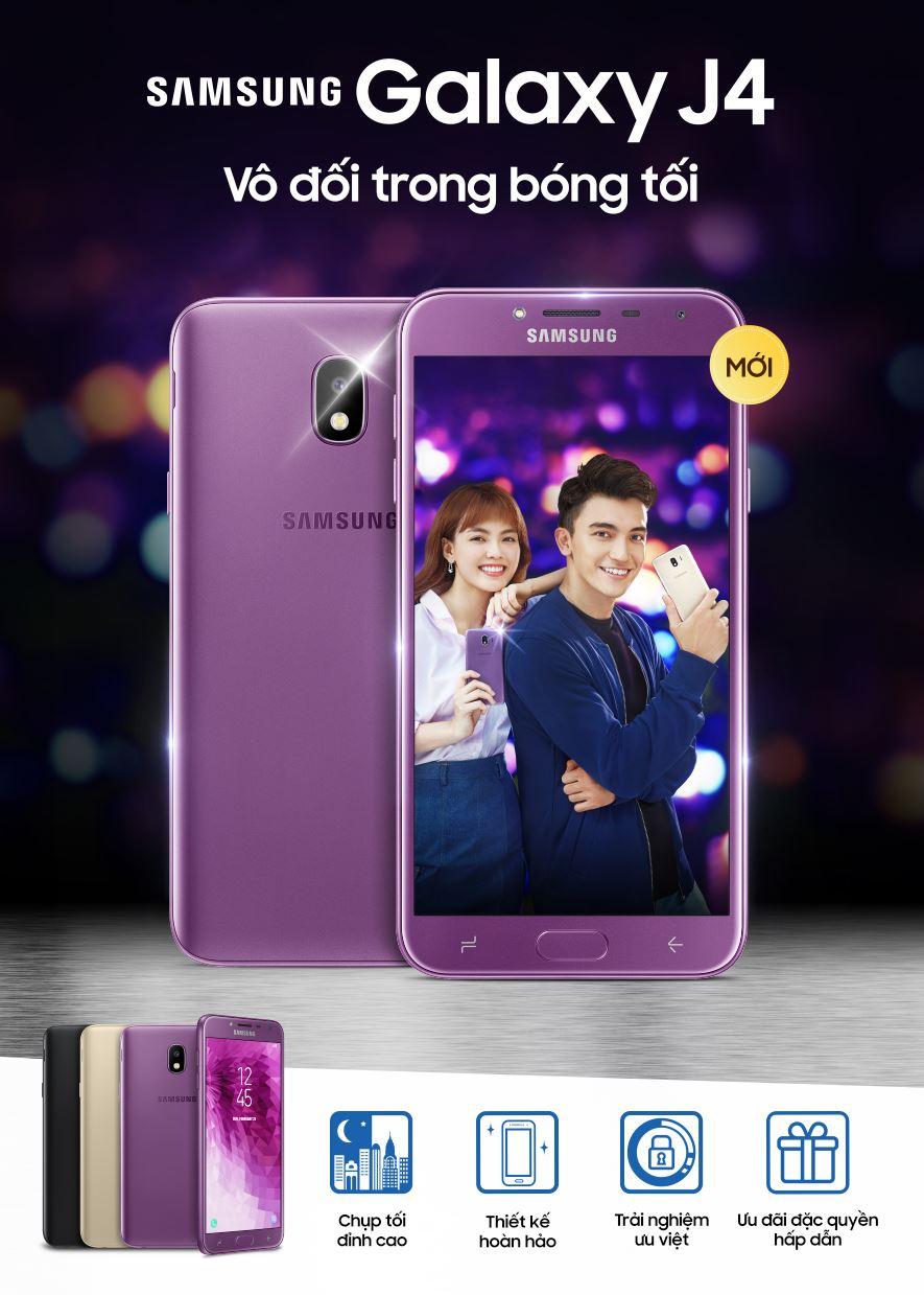Samsung chính thức ra mắt Galaxy J4: Mở bán vào ngày 8/6 cùng quà tặng Galaxy và gói bảo hiểm giá trị hình 6