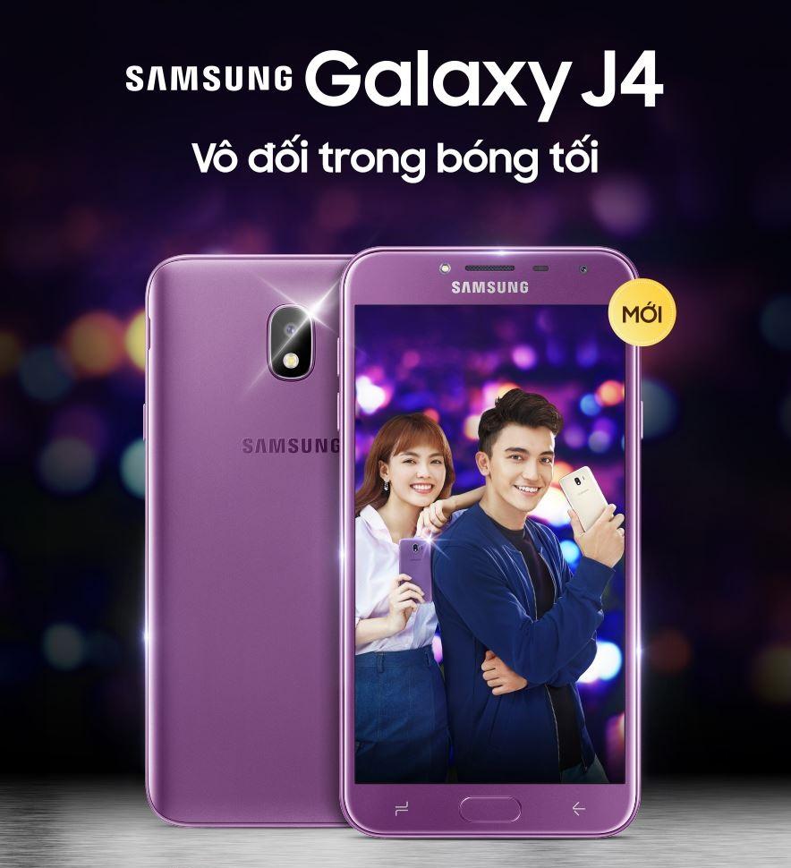 Samsung chính thức ra mắt Galaxy J4: Mở bán vào ngày 8/6 cùng quà tặng Galaxy và gói bảo hiểm giá trị hình 1