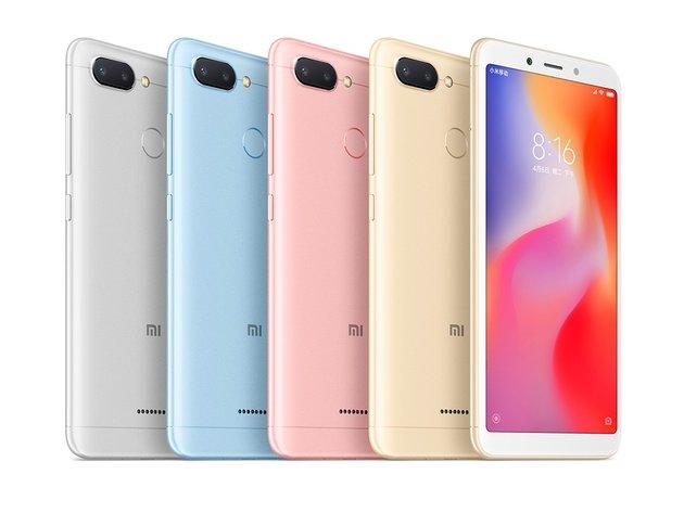 Xiaomi ra mắt Redmi 6 và Redmi 6A: Camera kép, mà hình 18:9, giá từ 2.1 triệu hình 2