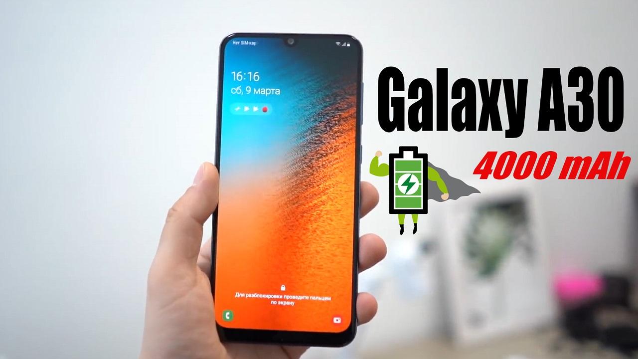 Galaxy A30: Màn hình Infinity-U, Camera kép, pin 4000 mAh hình 1