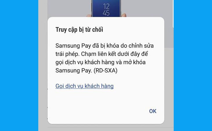 [Chú ý] Samsung Pay sẽ bị khóa nếu người dùng ROOT máy hình 2