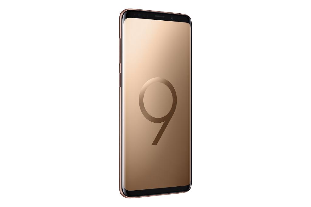 Samsung tiếp tục giới thiệu phiên bản màu tuyệt đẹp đón hè 2018: Galaxy S9+ hoàng kim hình 4